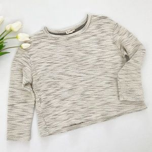 Jane and Delancey   Marled Sweater